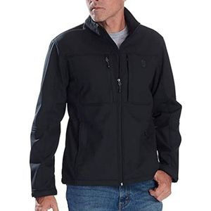 Free Country Softshell Black Jacket [A13]
